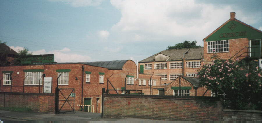 Sandown Works - High Wycombe - England - demolished in 2005 for housing - we spent over 25 years here